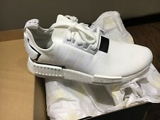 Brand New Adidas NMD_R1 Boost Triple White BD7741 Size 10.5