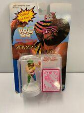 Vintage WWF Stamper Macho Man Randy Savage Moc Unused