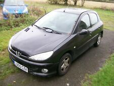 PEUGEOT 206 ZEST 3 1.1 2005 REG BLACK EXL 5 DR SPARES BONNET WING HEADLIGHT DOOR