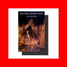 Upda Book-Voice Of The Coyote-Illustrat Olaus J.Murie%Frank Dobie-Southwest Life