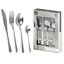 16pc Stylish Quality Stainless Steel Kitchen Cutlery Tableware Set 0643