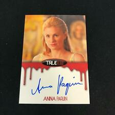2012 HBO True Blood ANNA PAQUIN Auto as Sookie Stackhouse Autograph On Card *SC5