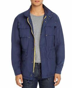 Pacific & Park Pop Color Zipper Slim Lightweight Cotton Canvas Utility Jacket