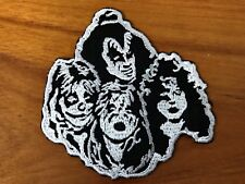 Kiss Rock and Roll Band Sew Iron On Patch Embroidered Hard Logo Applique Shirt