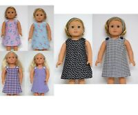 OUR GENERATION AMERICAN GIRL REVERSIBLE DRESSES & HEADBAND  CLOTHES 18INCH DOLL