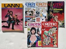 comics US erotic world of frank thorne 2 à 6 et Lann adult fantasy album