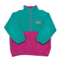 90s Vintage New York Marathon 1/2 Zip Fleece | Large | Jumper Sweatshirt Top 1/4