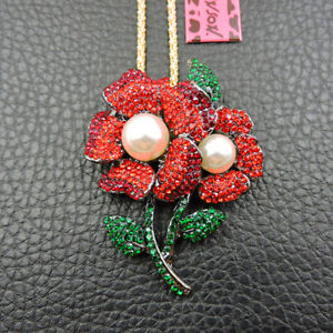 OFFbb-USA Cherry Blossom Tokyo City Achievement Culture Pendant Vintage Necklace Silver Key Jewelry
