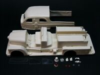 1:25 scale model resin 1957 Seagrave Sedan Pumper fire truck conversion kit