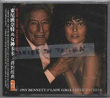 Tony Bennett & Lady Gaga: Cheek to Cheek - Deluxe Edition (2014) CD OBI TAIWAN
