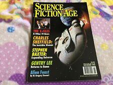 Nov 1996 Science Fiction Age magazine Xfiles - Stephen Baxter