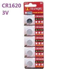 3V CR1620 DL1620 ECR1620 3 Volt Button Coin Cell Battery for CMOS watch toy x5✿