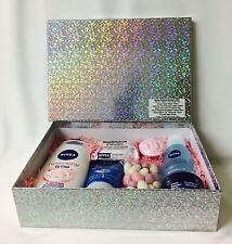 Nivea Aloe Vera Silver Box Valentines Hamper Womens Gift Shampoo Toiletries G226