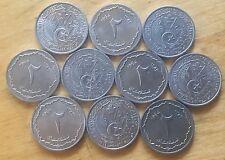 Algeria AH1383-1964 2 Centimes; KM-95; UNC; Lot of 10 (#a19)