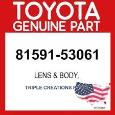 TOYOTA GENUINE 8159153061 LENS, REAR LAMP, LH 81591-53061