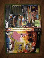 The Spongebob Squarepants Movie (Microsoft Xbox) Complete w/ Manual Tested works