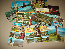 44 CHROME POSTCARDS EUROPE WITH SEVERAL AFRICA
