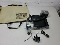 Vintage Photography Metz 402 Flash And Battery Pack W/ Metz 196 W/ Cords & Bag