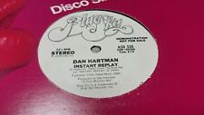 DAN HARTMAN - INSTANT REPLAY - PROMO, ASD 520, DANCE, POP  VINYL RECORD