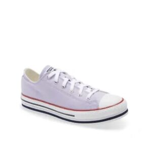 Converse Chuck Taylor® All Star® Low Top Platform Purple Sneakers Kid Size 5.5