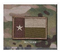 Morale Patch - Milspec Monkey - TEXAS Flag - MULTICAM ARID - New colors for 2015