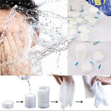20x Magic Compressed Pill Towel Travel Bath Face Compact Washcloth Disposable LA