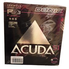 Gomma Racchetta Tennistavolo Donic Acuda S1 Colore Rosso mm Max