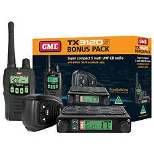 GME GENUINE TX3120s S 80 CHANNEL UHF SPEAKER MICROPHONE+TX670 SINGLE HANHELD PK