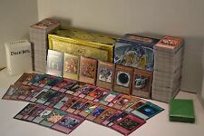 Yugioh Lot Deck Collection Egyptian Gods 1000 cards 40 Holos Wicked Gods