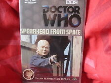 DOCTOR WHO: SPEARHEAD FROM SPACE - BBC TV - Jon Pertwee is Dr Who Robert Holmes