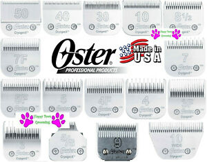 Pro OSTER Cryogen X A5/A6 BLADE*16 SIZES*Fit Many Andis,Wahl,Laube,Moser Clipper