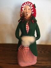 "Byers Choice Caroler, ""Traditional Woman With Muff"", 1985"