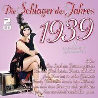 DIE SCHLAGER DES JAHRES 1939 2 CD NEU