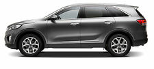 BODY SIDE Moldings, LOWER CHROME Trim Mouldings For: KIA SORENTO 2011-2018