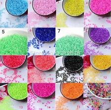 12colors 1200pcs Czech Seed Spacer Beads Crystal Glass Beads For jewelry 3mm