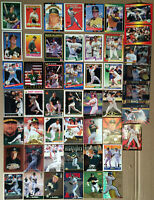 MARK MCGWIRE LOT of 76 insert & base cards NM+ 1987-1998 every year Oakland A's
