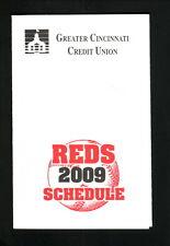 2009 Cincinnati Reds Schedule--Greater Cincinnati Credit Union