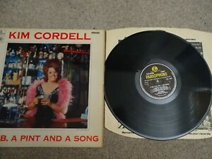 LP - KIM CORDELL - A PUB,A PINT AND A SONG - WITH BOW BELLS - SAM FONTEYN