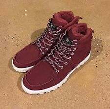 DC Woodland Boots Syrah Men's Size 13 Moc Toe Winter Boots BMX MOTO Sneakers