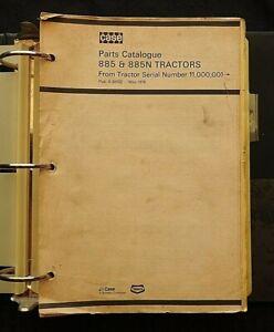 1971-80 CASE DAVID BROWN MODEL 885 & 885N TRACTOR PARTS CATALOG MANUAL CLEAN