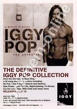 Iggy Pop A Million Prizes The Definitive Collection LP Advert
