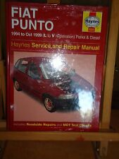 @@ HAYNES SERVICE AND REPAIR MANUAL FIAT PUNTO 1994 to OCT 1999 L to V( NEW ) @@