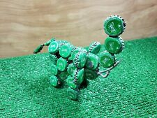 Vintage recycled Sprite soda bottle cap handmade Elephant folk art figure 80s