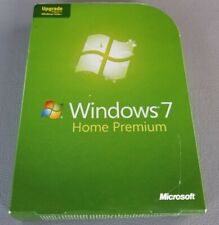 Microsoft Windows 7 Home Premium Upgrade 32 Bit and 64 Bit DVDs w/ Product Key