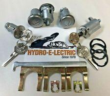 NEW 1965 Buick Skylark/Special Complete Lock Set- Separate Ignition key- GM keys