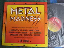 "METAL MADNESS LP RECORD 12"" LP VINYL SAMPLER"