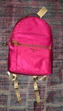 Ultra Pink Nylon Michael Kors Handbag Large Kelsey Backpack Bag $178