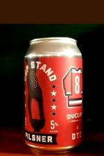 """""""Cup Stand"""" Beer Can EMPTY Washington Capitals STANLEY CUP Champions 2018 DuClaw"""