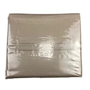 Hotel Collection 800 TC King/Cal-King Deep Pocked Flat Sheet Tan Egyptian Cotton