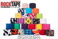RockTape Kinesiology Sports Strapping Tape Pattern Rolls
